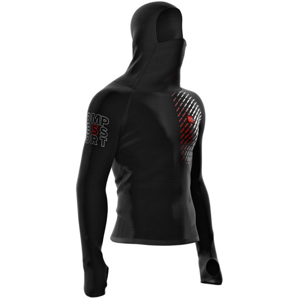 Худи Compressport 3D Thermo Ultralight racing hoodie