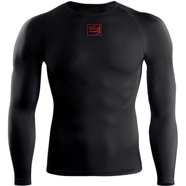 Кофта с длинным рукавом Compressport 3D Thermo Shirt LS, SS2020