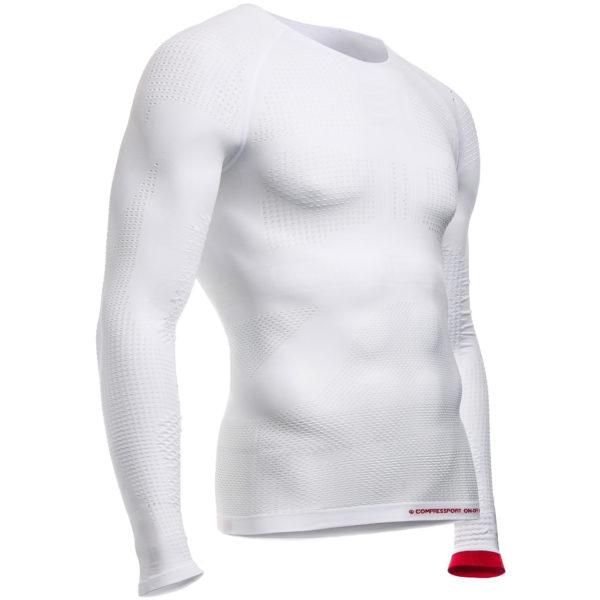 Кофта с длинным рукавом Compressport ON/OFF Shirt LS