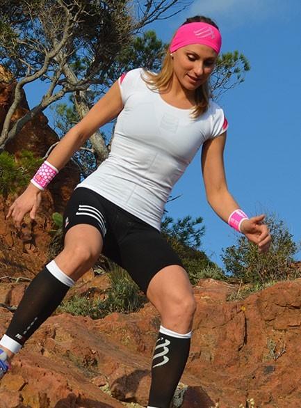 Футболка женская Compressport Trail Shirt SS V2