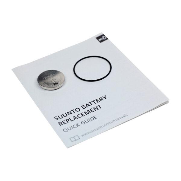 Набор д/замены батарейки Suunto CORE/LUMI/T4/T3/T1 BATTERY KIT