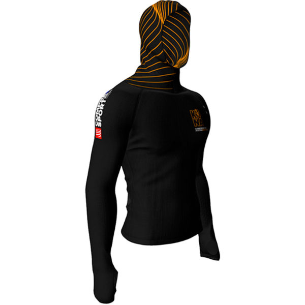 Худи женская Compressport Kona 2017 3D Thermo Hoodie