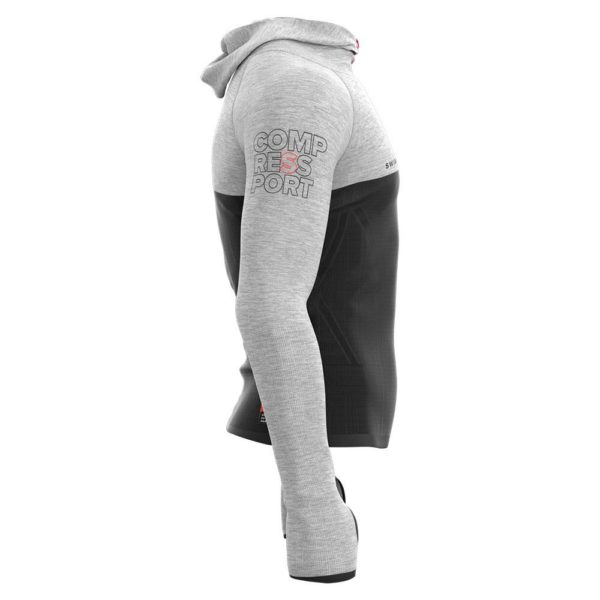 Худи Compressport Kona 2018 3D Seamless Zip Hoodie