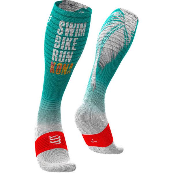 Гольфы компрессионные Compressport Kona 2019 Full Socks Oxygen