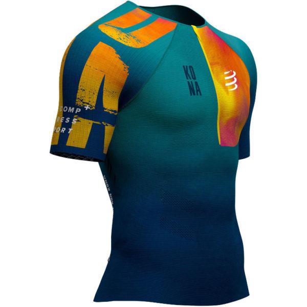 Футболка для триатлона Compressport Kona 2019 Triathlon Postural Aero SS Top