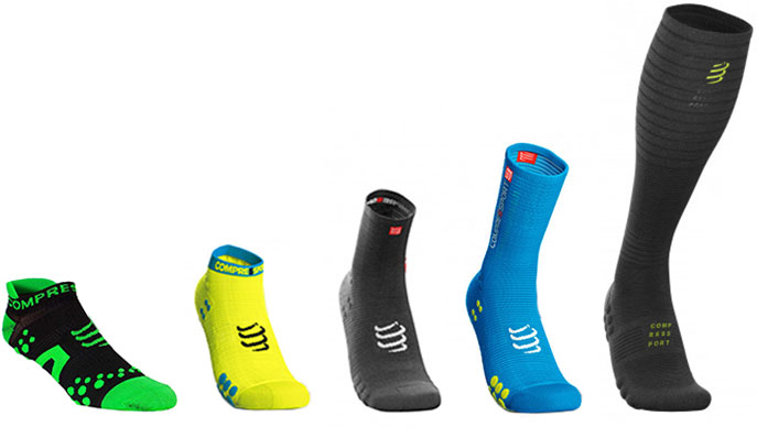 Носки компрессионные Compressport Under Control Pro High Socks