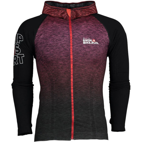 Худи Compressport SwimBikeRun 3D Seamless Hoodie