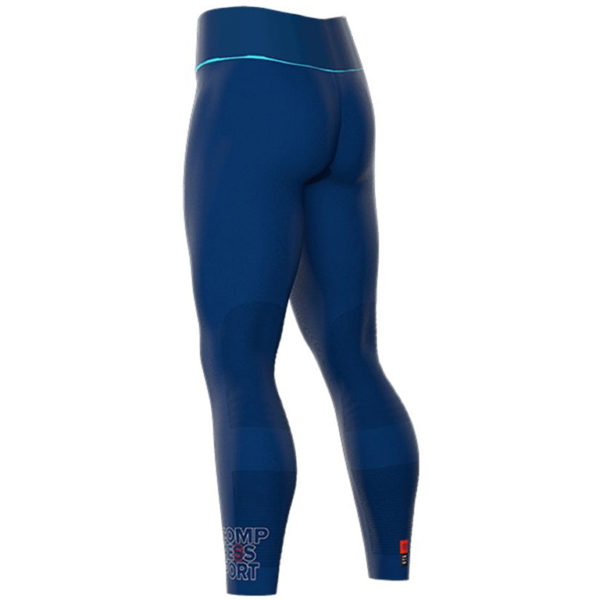 Тайтсы для бега Compressport UTMB 2018 Ultra-Trail Under Control Full Tights