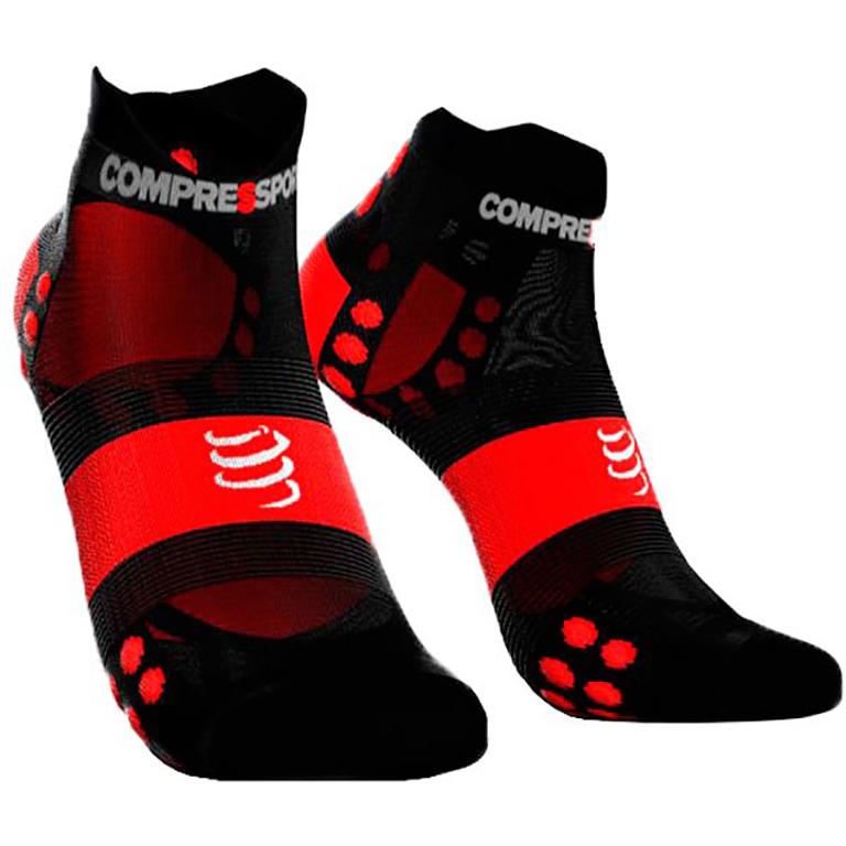 Носки компрессионные Compressport Racing Socks V3.0. Ultralight Run Low