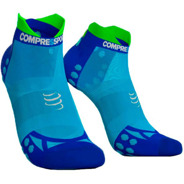 Носки компрессионные Compressport Pro Racing Socks V3.0. Ultralight Run Low