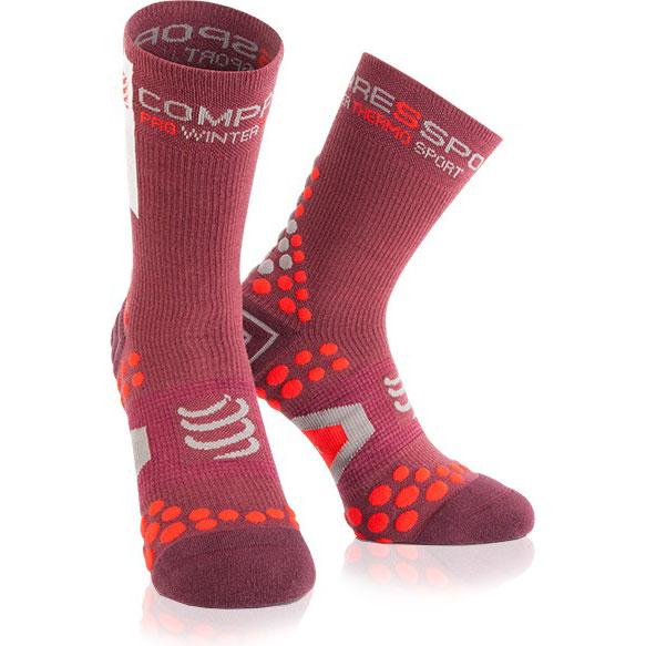 Носки компрессионные Compressport Pro Racing Socks V3.0. Winter Bike