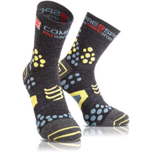 Носки компрессионные Compressport Pro Racing Socks V3.0. Winter Bike
