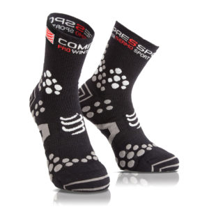 Носки компрессионные Compressport Pro Racing Socks V3.0. Winter Trail