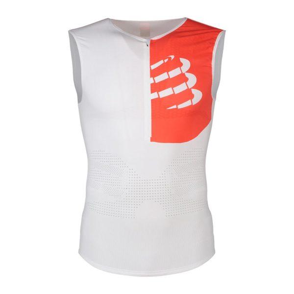 Майка для триатлона мужская Compressport Triathlon Postural Tank Top