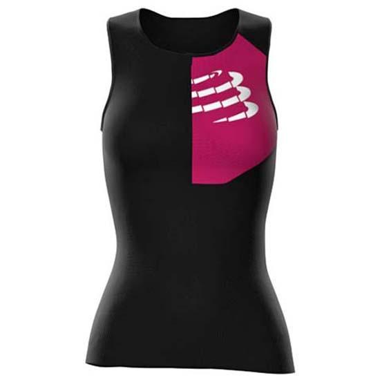 Майка для триатлона женская Compressport Triathlon Postural Ultra Tank Top