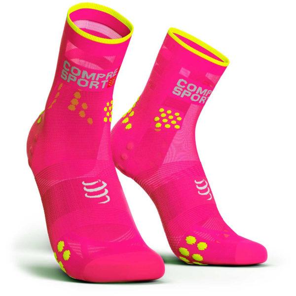 Носки компрессионные Compressport Pro Racing Socks V3.0. Ultralight Run High