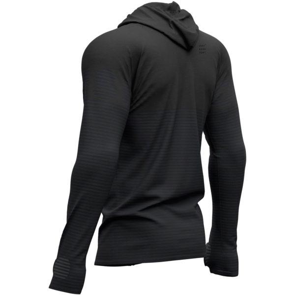 Худи Compressport Black Edition 2019 3D Thermo Seamless Hoodie Zip