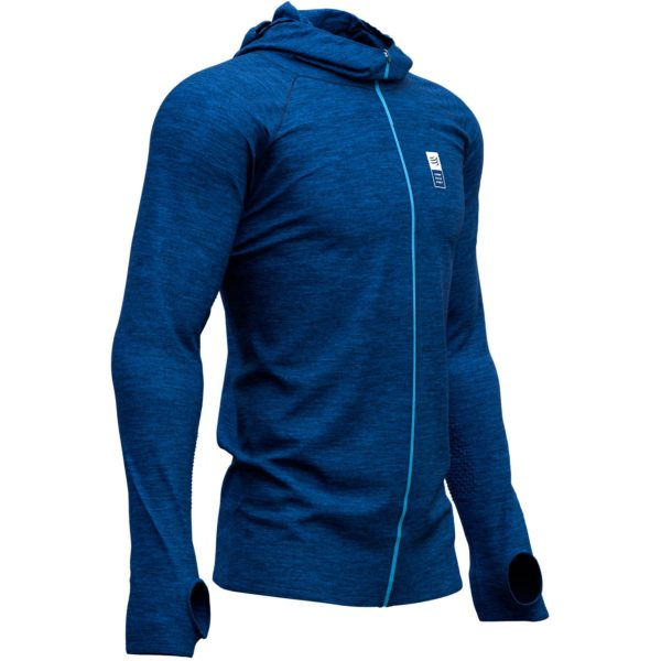 Худи Compressport Mont Blanc 2019 3D Thermo Seamless Hoodie Zip