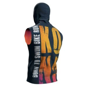 Худи без рукавов Compressport Kona 2019 3D Thermo Seamless Zip Hoodie Sleeveless
