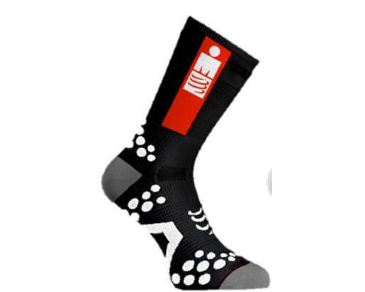 Носки компрессионные вело Compressport ProRacing Socks V3 UltraLight Bike - Ironman 2017