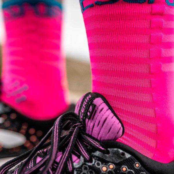Носки компрессионные Compressport Pro Racing Socks V3.0 Ultralight Run High, SS2020