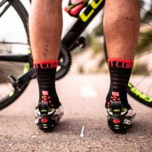 Носки компрессионные Compressport Pro Racing Socks V3.0 Ultralight Bike, SS2020