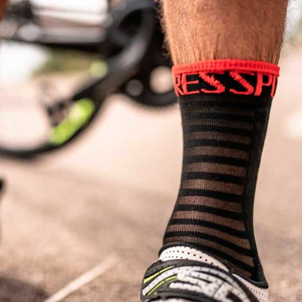 Носки компрессионные Compressport Pro Racing Socks V3.0 Ultralight Bike, SS2020
