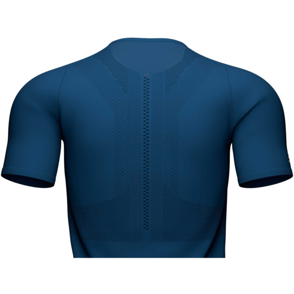Футболка Compressport Trail Half-Zip Fitted SS Top, SS2020