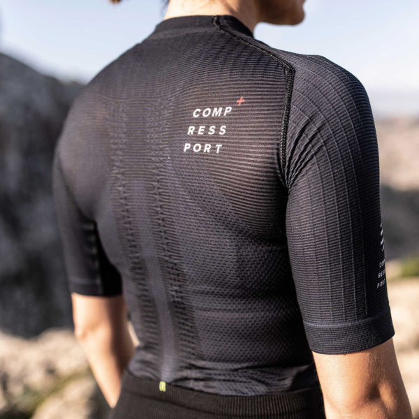 Футболка женская Compressport Trail Postural SS Top W, SS2020