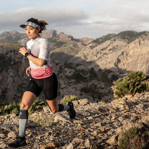 Футболка женская Compressport Trail Postural SS Top W, SS2020