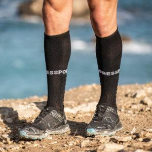 Гольфи Compressport Full Socks Run, Black