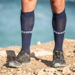 Гольфи Compressport Full Socks Run, Blue
