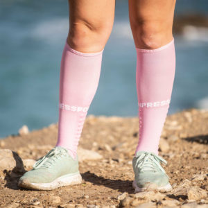 Гольфи Compressport Full Socks Run, Pink