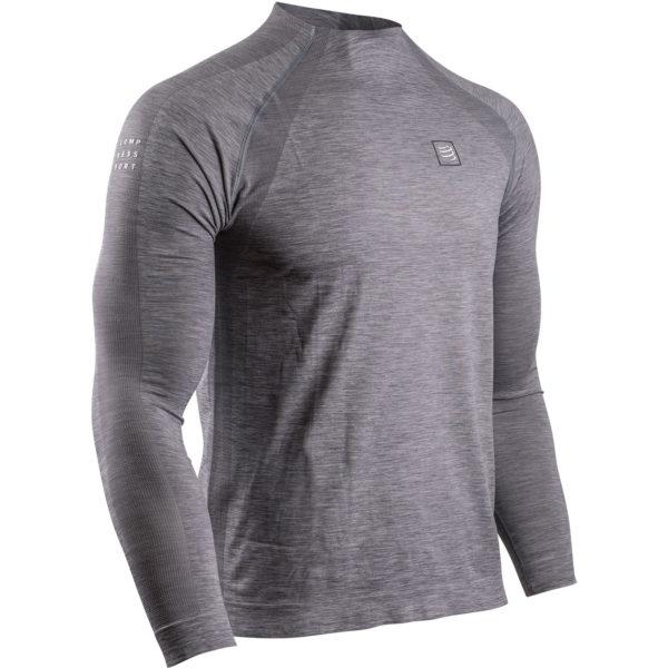 Кофта с длинным рукавом Compressport Training T-Shirt LS