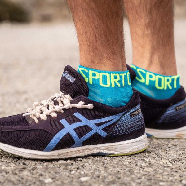 Носки компрессионные Compressport Pro Racing Socks V3.0 Ultralight Run Low, SS2020