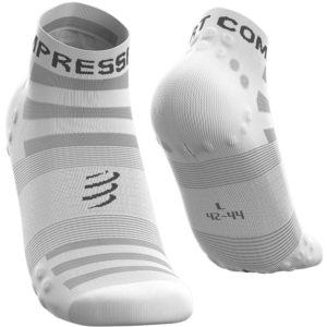 Шкарпетки компресійні Compressport Pro Racing Socks V3.0 Ultralight Run Low, White