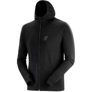 Худи Compressport 3D Thermo Seamless Hoodie Zip - Black Edition 2020