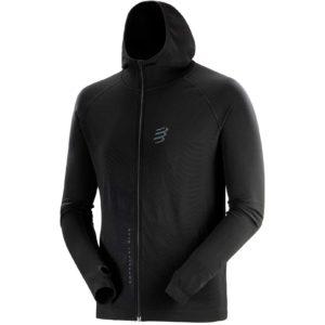 Худи Compressport 3D Thermo Seamless Hoodie Zip - Black Edition 2020