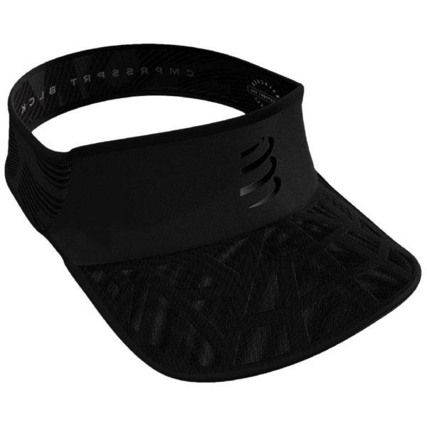 Козырек Compressport Spiderweb Ultralight Visor - Black Edition 2020