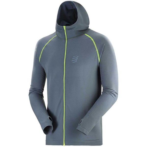 Худи 3D Thermo Seamless Hoodie - Born To SwimBikeRun 2020
