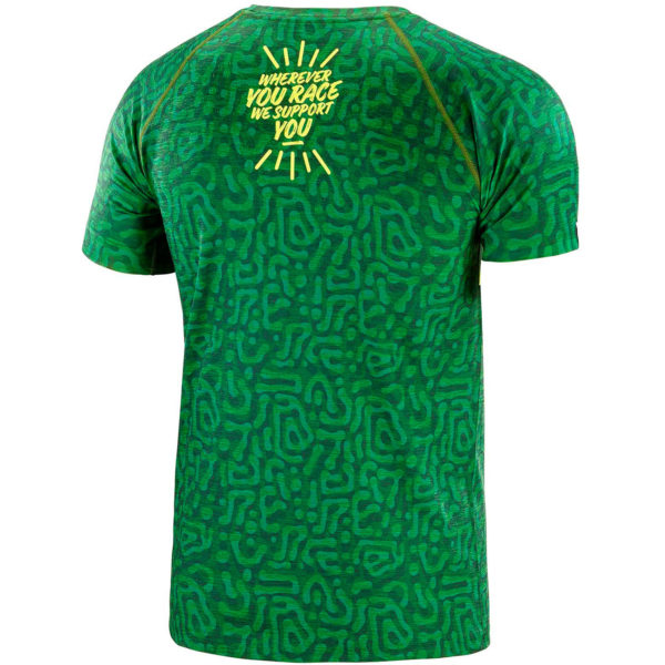 Футболка Compressport Training Tshirt SS Camo Neon