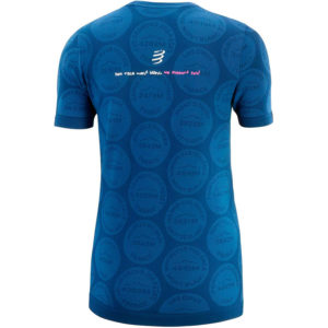 Футболка женская Compressport Training Tshirt SS W Badges - Mont Blanc 2020