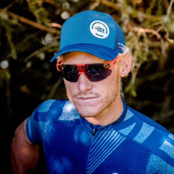 Кепка Compressport Trucker Cap - Mont Blanc 2020