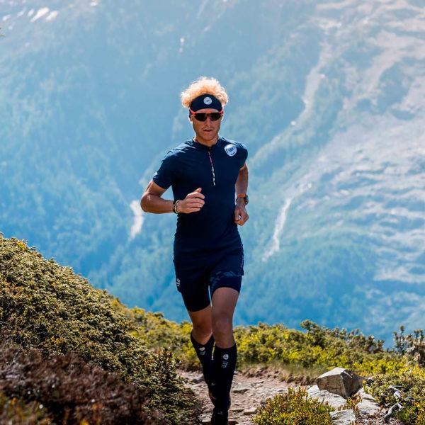 Повязка Compressport HeadBand On/Off - Mont Blanc 2020