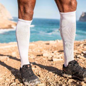 Гольфи Compressport Full Socks Race Oxygen, White