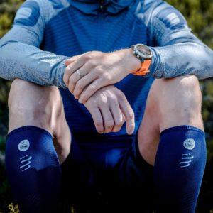 Гольфы компрессионные Compressport Full Socks Race & Recovery - UTMB 2020
