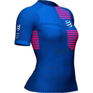 Футболка женская Compressport Tri Postural SS Top W, SS2021