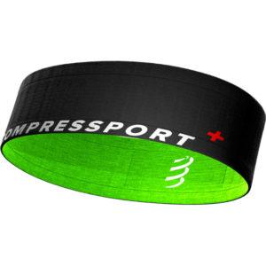 Пояс Compressport Free Belt, Black/Lime