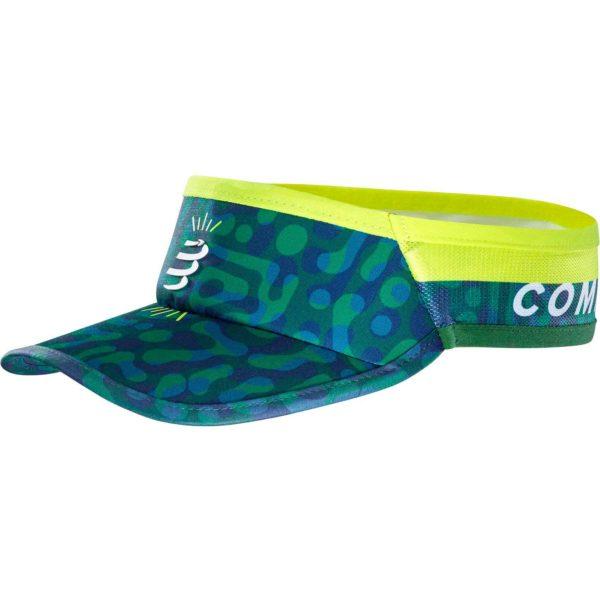 Козырек Compressport Visor Ultralight Camo Neon