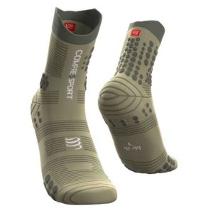 Шкарпетки компресійні Compressport Pro Racing Socks V3.0 Trail, Dusty Olive